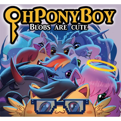 Blobs are cute - OhPonyBoy