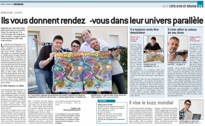"I'm on Newspaper ""LeBienPublic"" !"